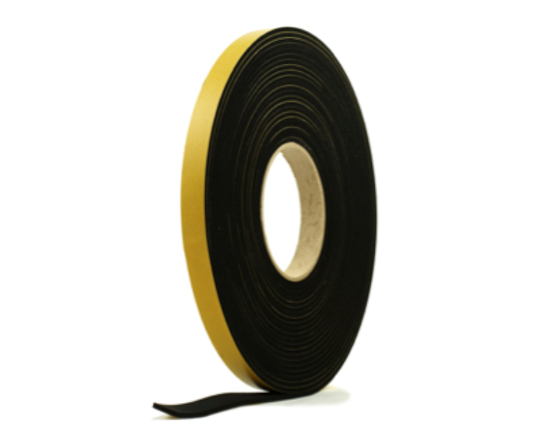 Picture of ECE 5mm thick x 20mm wide Self-adhesive door tape (10m Roll)