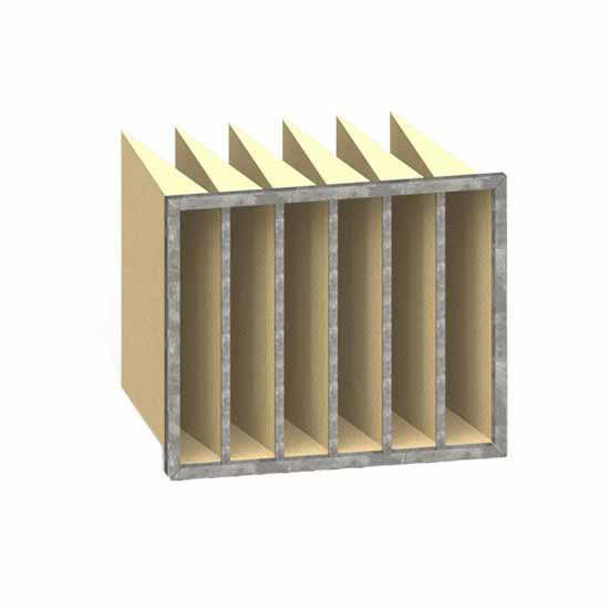 Picture of 592 x 492 x 508 F7  Bag Filter (Metal Frames)