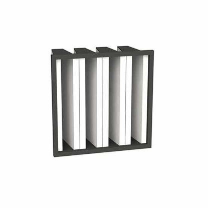 Picture of 592 x 592 Synthetic Rigid Bag Filter - 25mm Header