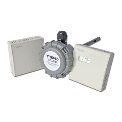 Picture of Duct Carbon dioxide concentration and temperature sensor
