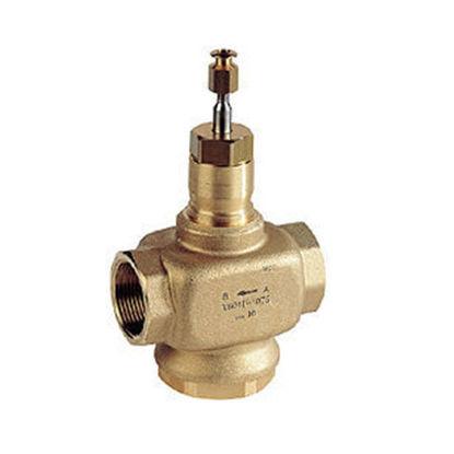 Picture of 2 Port Plant Valve - 20mm Stroke PN16 Int Thread Brass Plug 25mm Kvs 10