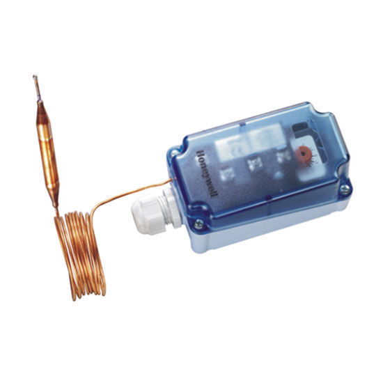 Picture of Frost protection thermostat - 1.8 metre coil length - Automatic Reset