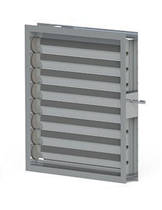 Picture of Damper H 1100mm x W 1400mm x Depth 120mm OBD VCD SFMBO